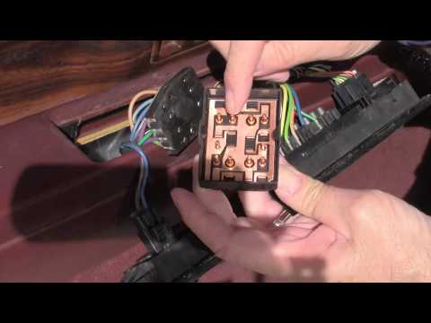 How To Replace Window Switch 1998 Buick LeSabre