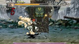 Guilty Gear Judgment - Stage 1 boss