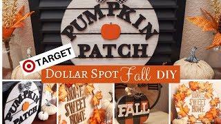 Target Dollar Spot DIY | Fall Home Decor