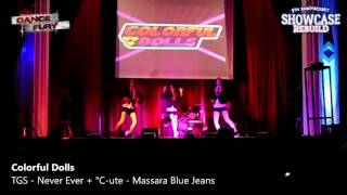 Colorful Dolls [Dance Cover] Never Ever || Tokyo Girl's Style - Massara Blue Jeans || ℃-ute