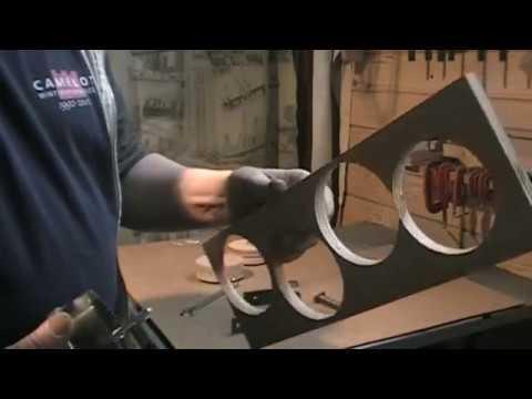 Diy bricolage fabrication d 39 une poulie en bois pour Fabrication d une porte en bois