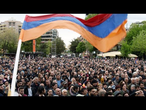 Протесты в Армении: