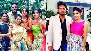 Rekka Katti Parakuthu Manasu Serial Couple Shameera and Anwar New year celebration with poor kids