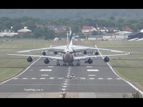 How to parking Worlds longest aircraft