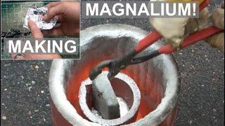 Making a Super Brittle Metal Alloy- What is Magnalium? - ElementalMaker