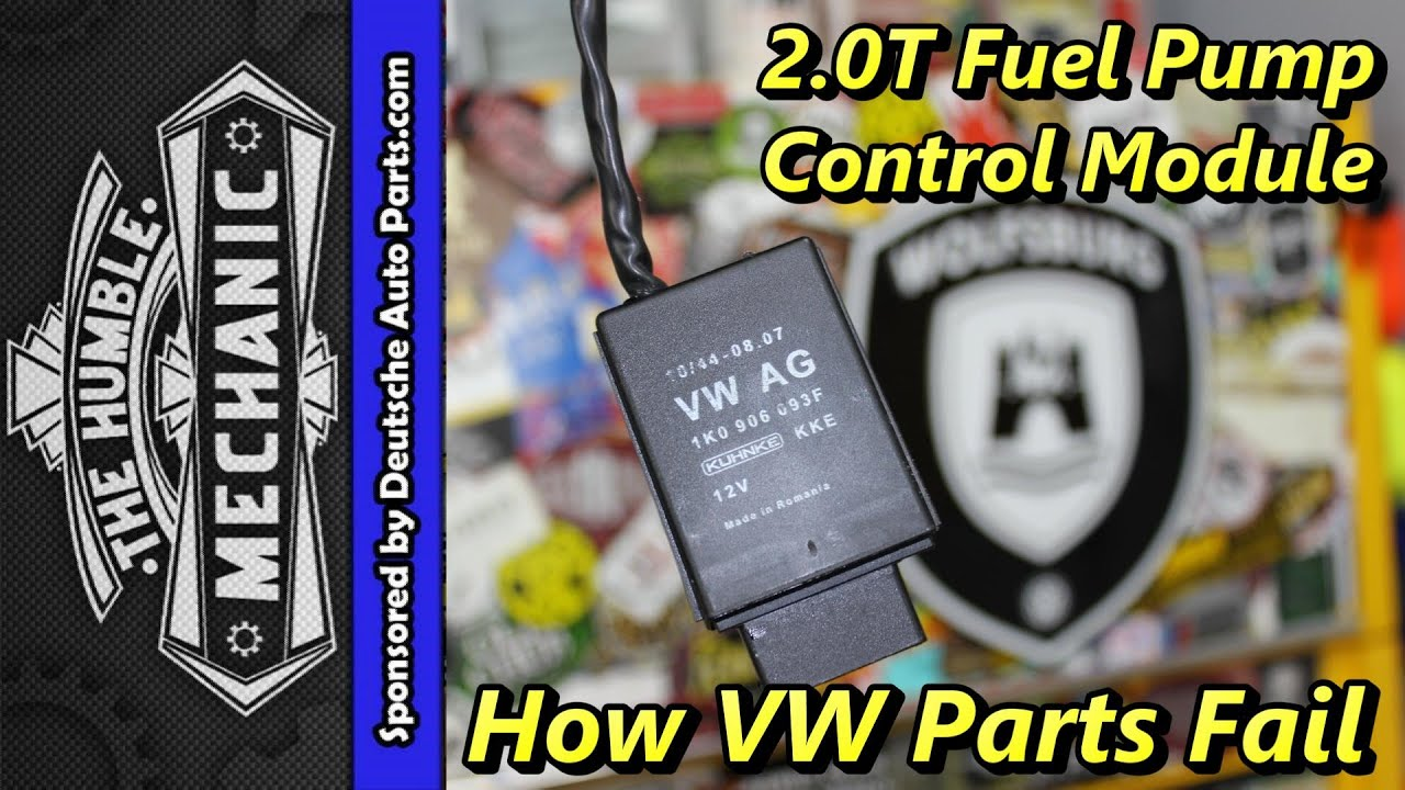 How Vw Parts Fail 2 0t Fuel Pump Modules Youtube