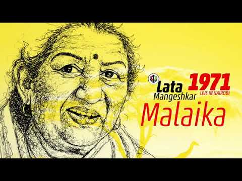 Lata Mangeshkar | 1971 performing live in Nairobi