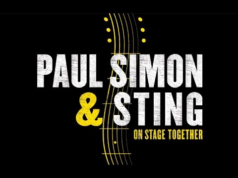 STING AND PAUL SIMON LIVE - BOWL OF BROOKLANDS - NEW PLYMOUTH