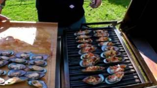 Grünschalmuscheln, Miesmuscheln, Muscheln vom Grill, Rezept - Disturbed Cooking Ep. 25