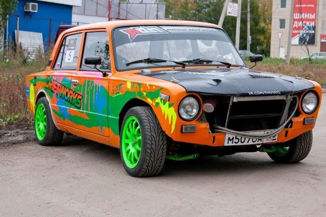 Драг Автомобиля ВАЗ 2101 и Ниссан. Супер. Drag Car VAZ 2101 and Nissan. Super