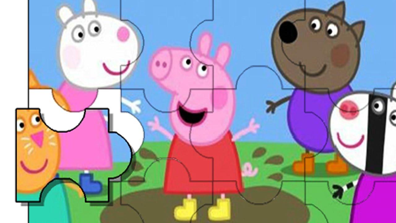 Peppa Pig Puzzles Online Peppa Pig Peppa Pig y sus amigos