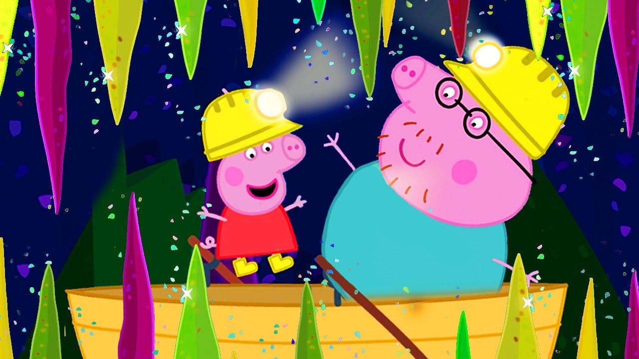 Peppa Pig Italiano ⭐ Visita Alle Grotte - Collezione Italiano - Cartoni Animati