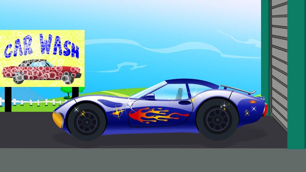 Sports Car  Car Wash  Youtube