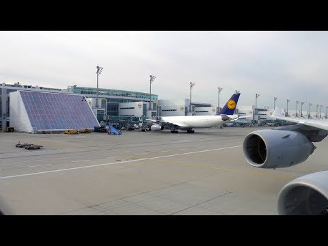 Lufthansa A340-600 | Takeoff from Munich To Incheon Airport