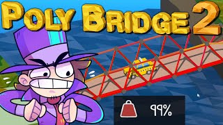 Die 99,8% Auslastungs-Brücke!