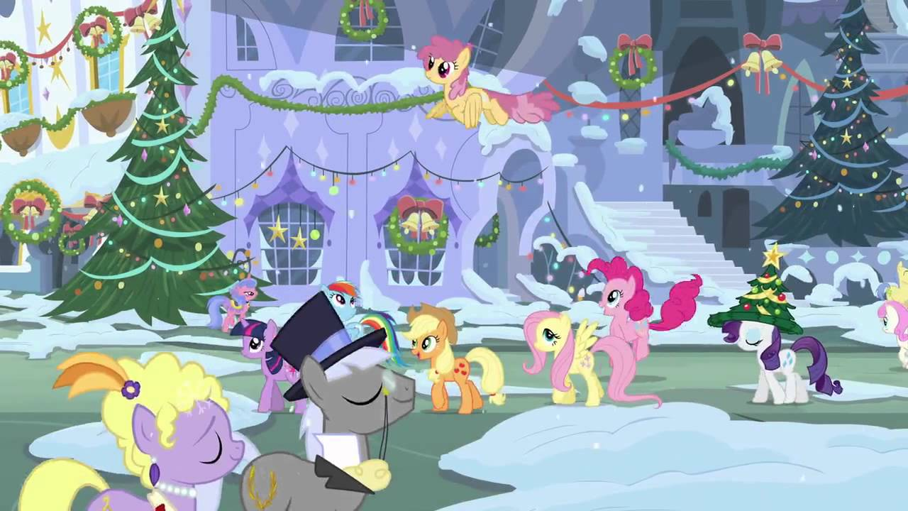 Short Preview of Upcoming My Little Pony Christmas Album - YouTube