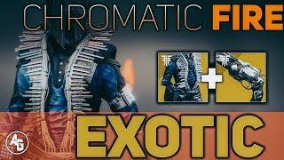 Chromatic Fire Review (Warlock Exotic Chest Armor)   Destiny 2 Forsaken