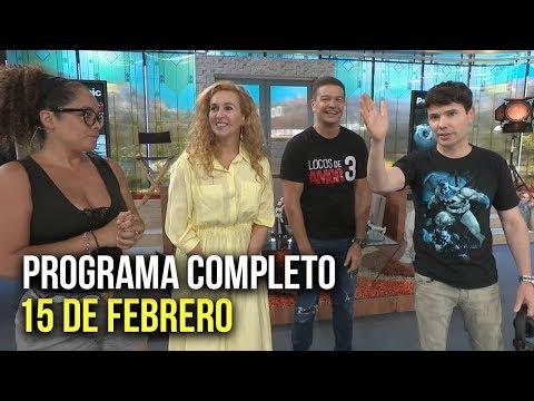 Cinescape 15 De Febrero (Programa Completo)