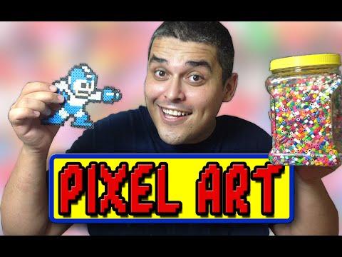Faça Sua Pixel Art Com Beads