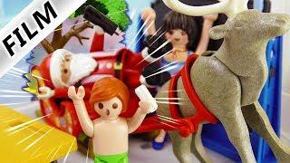 Playmobil Film deutsch WEIHNACHTS-SCHLITTEN KRACHT IN SCHULE Julians Wunsch?Kinderfilm Familie Vogel