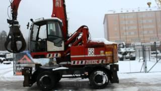 перегружатель Solmec 210ESC www.deltabalt.ru(Экскаватор перегружатель Solmec 210ESC. Двигатель: 6 цилиндров Perkins 1106 129кВт Спецификация: Гидравлическая подьемн..., 2013-12-11T12:06:54.000Z)