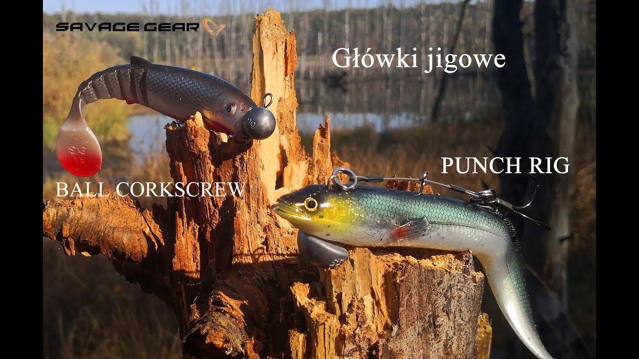 SAVAGE Gear jigköpfe-Ball Corkscrew Heads