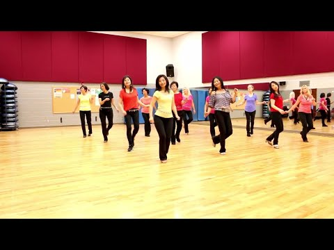 Please Stay - Line Dance (Dance & Teach in English & 中文)