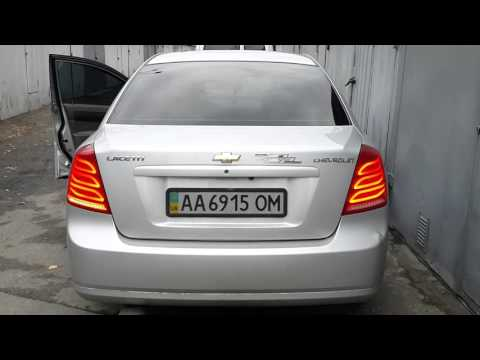 chevrolet Lacetti LED taillights W222 style/ задние светодиодные тюнинг фонари