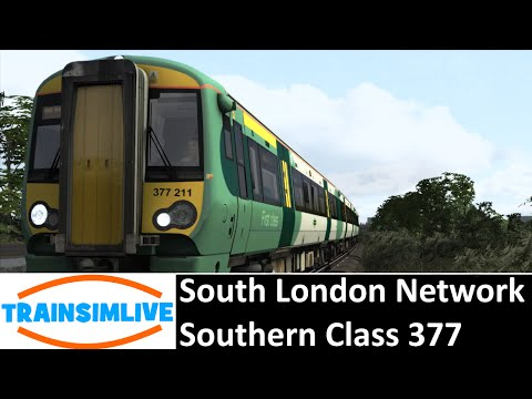 Train Simulator 2015 - South London Network, Class 377 Southern