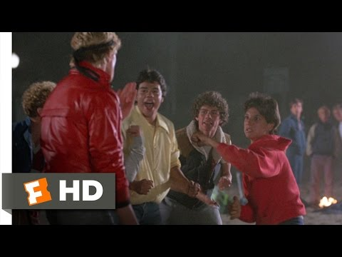 Daniel Defends Ali - The Karate Kid (1/8) Movie CLIP (1984) HD