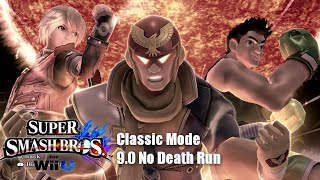 Super Smash Bros. Wii U: Classic Mode 9.0 - Zero Deaths