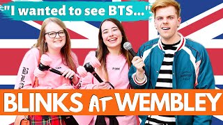 Interviewing BLACKPINK fans at Wembley