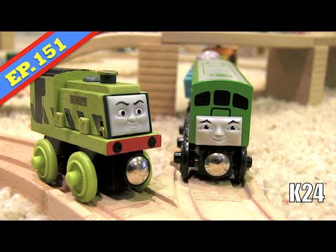Fergus' Day Off | Thomas & Friends Wooden Railway Adventures | Episode 151