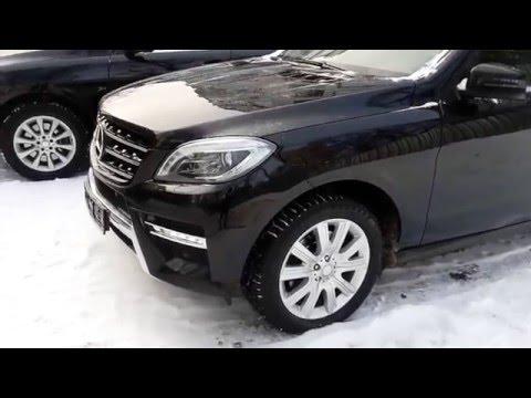 Купить Mercedes-Benz M-класса 2013 года (W166) черный AMG - Москва