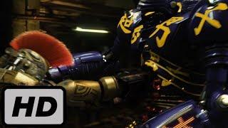 Японский робот против чемпиона подпольных боев. Живая сталь. (2/2) | 2011 | HD