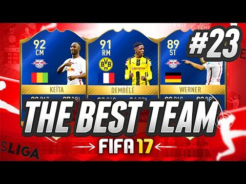 THE BEST TEAM IN FIFA! #23 [3,000,000 COIN TEAM] - #FIFA17 Ultimate Team