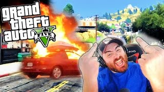 GTA 5 - EPIC CLICKBAIT RANT!! I Hate Them So Much!! GTA V Online (Funny Moments & FAILS) | HikePlays