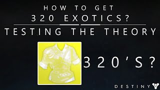 Destiny: 320 Exotics From Engrams? How To Get 320 Exotic Engram Drops? (Three Of Coins Test)