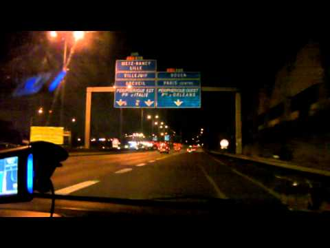 Driving In France-N7-Orly-Peripherique
