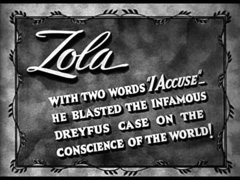 The Life Of Emile Zola - Trailer