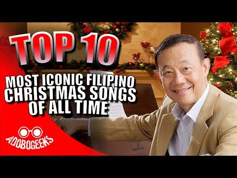 Top 10 Most Iconic Filipino Christmas Songs of All Time
