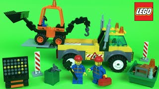 Lego Juniors construction Toys  Mighty Machines dump truck Duplo Lego Stop Motion
