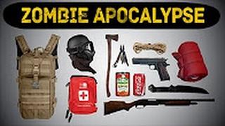 TOP 10 ITEMS FOR THE ZOMBIE APOCALYPSE