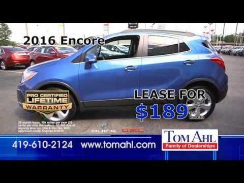 Tom Ahl Buick GMC Year End Model Clearance Sale