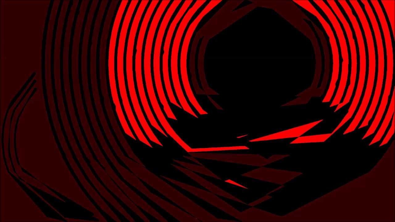Black And Red Gradient Map Threshold Circles Artwork Youtube