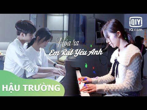 Hậu Trường:  Lâm Ngạn Tuấn dạy Vạn Bằng đánh đàn   Hóa Ra Em Rất Yêu Anh   iQiyi Vietnam
