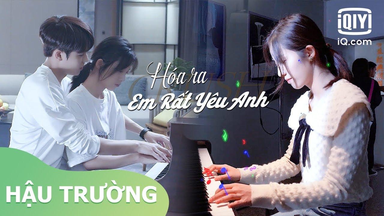 Hậu Trường:  Lâm Ngạn Tuấn dạy Vạn Bằng đánh đàn | Hóa Ra Em Rất Yêu Anh | iQiyi Vietnam