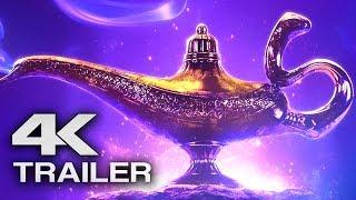 ALADDIN Teaser Trailer (4K ULTRA HD) 2019  -  Will Smith Disney Movie