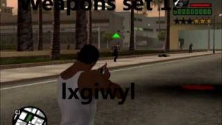 GTA San Andreas - Life, weapons, police and other codes PC