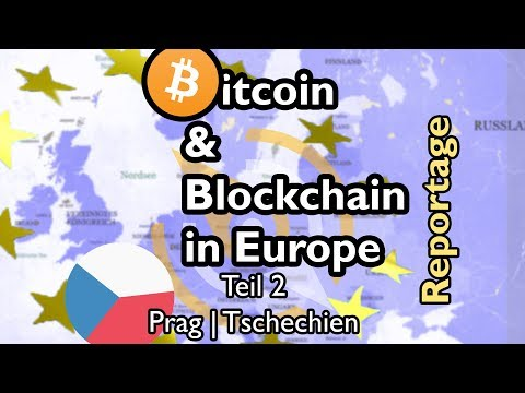 Reportage: Bitcoin in Europe - Teil 2 Prag | Prague   /w english subtitles